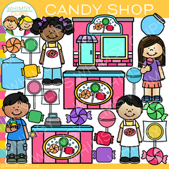 Candy Shop Clip Art