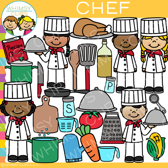 Kids Chef Clip Art