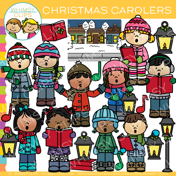 christmas caroling clip art images illustrations whimsy clips rh whimsyclips com animated christmas carolers clipart animated christmas carolers clipart