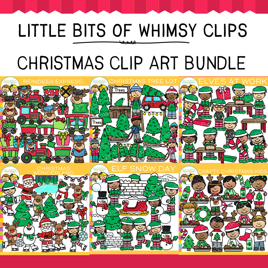Christmas Clip Art Bundle
