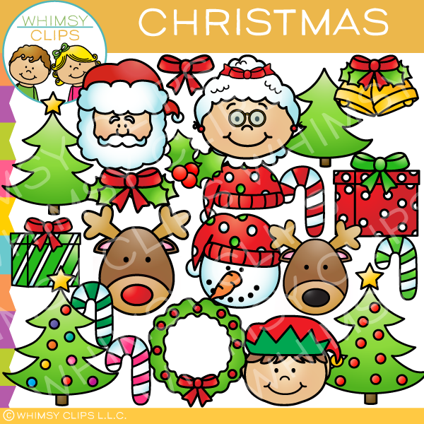 Pieces of Christmas Clip Art