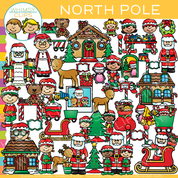 North Pole Clip Art