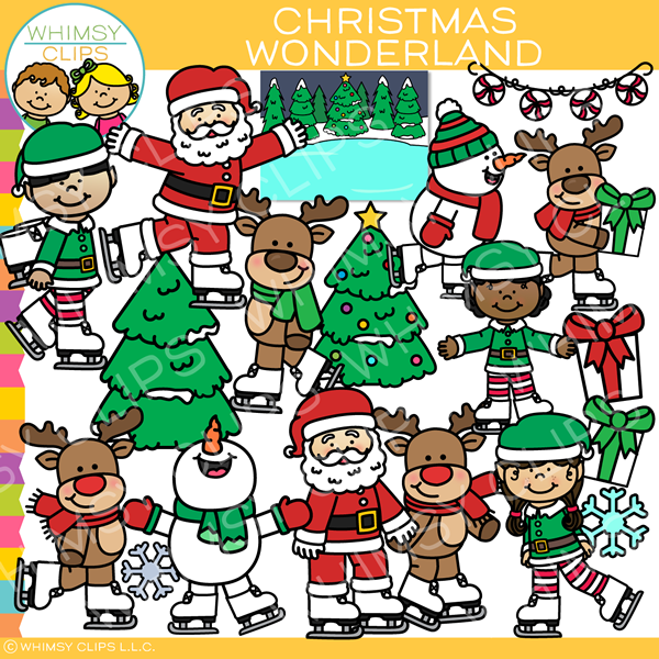 Christmas Wonderland Clip Art
