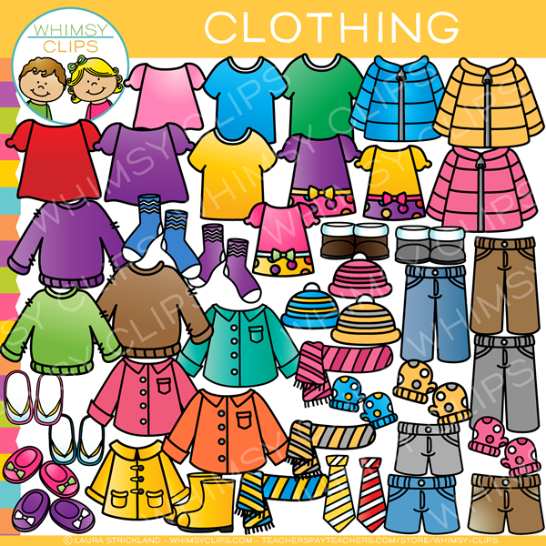 clothing clip art images illustrations whimsy clips rh whimsyclips com clip art of clothespins clipart of clothesline