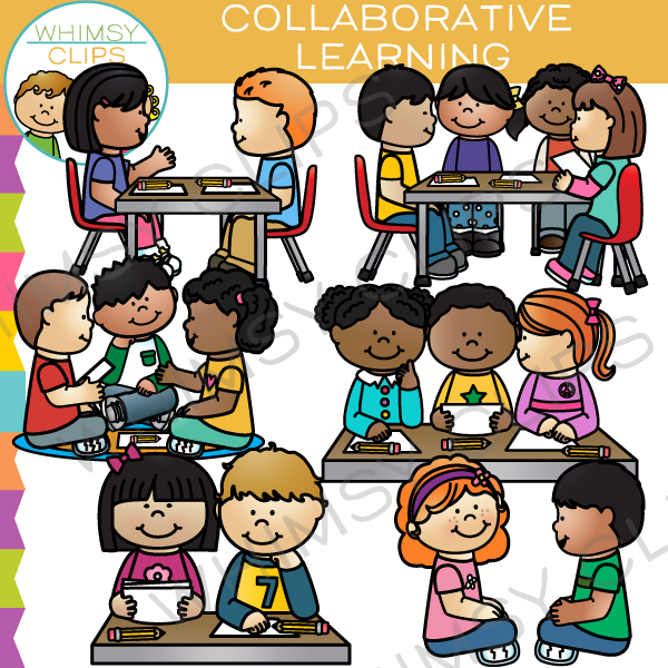 Collaborative Learning Clip Art