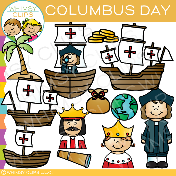 christopher columbus clip art images illustrations whimsy clips rh whimsyclips com columbus day clip art black and white happy columbus day clipart