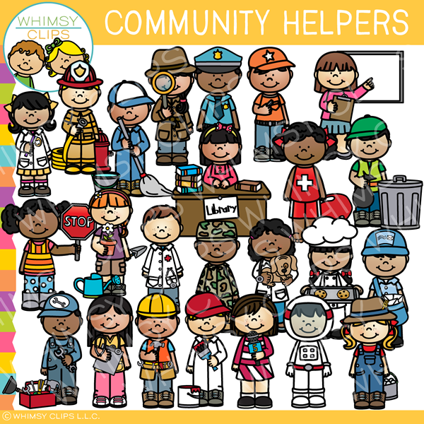 Community Helpers Clip Art Images Amp Illustrations