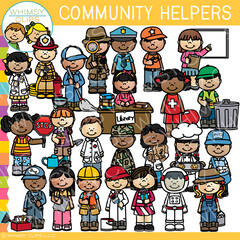 Community Helpers Clip Art