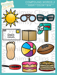 Compound Words Clip Art