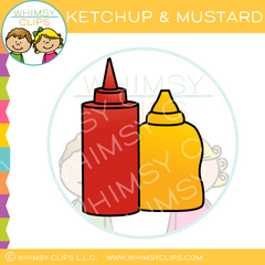 Ketchup And Mustard Clip Art