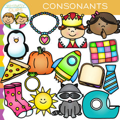 Beginning Consonants Clip Art