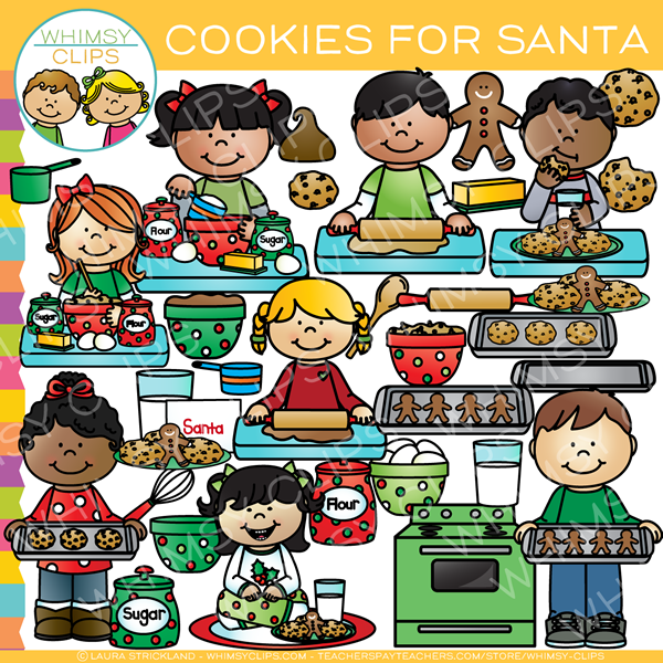 Cookies for Santa Clip Art