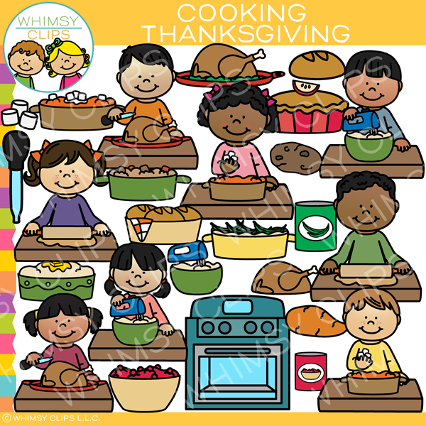 Thanksgiving Cooking Clip Art