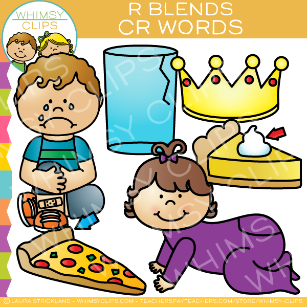 CR Words - R Blends Clip Art
