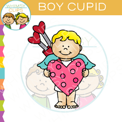 Boy Cupid Clip Art