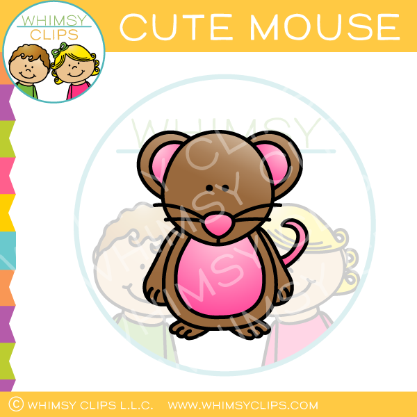 Cute Mouse Clip Art