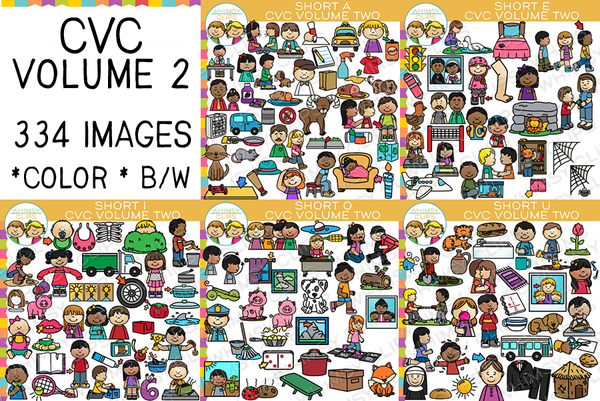 CVC Clip Art - Volume Two