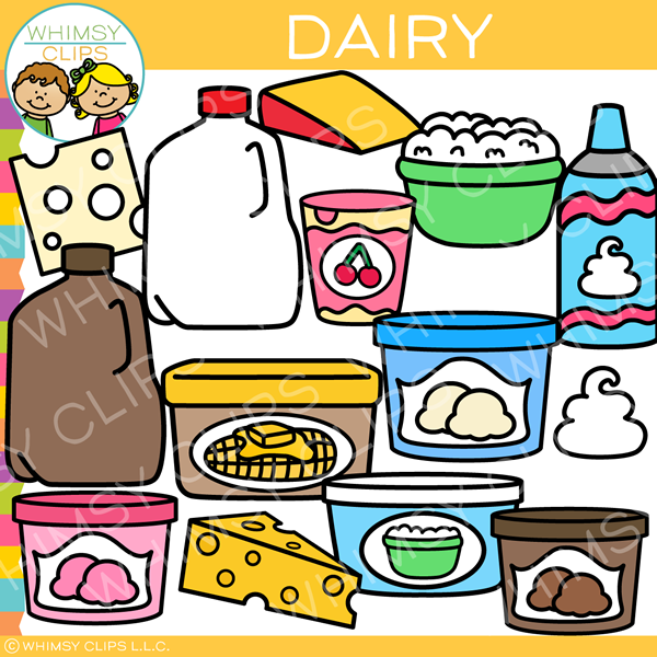 Food Group Dairy Clip Art