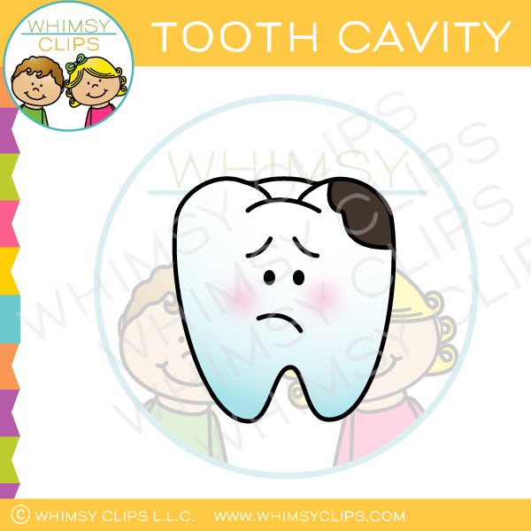 Tooth Cavity Clip Art