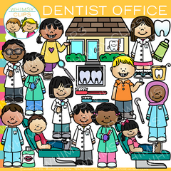 Kids Dentist Clip Art
