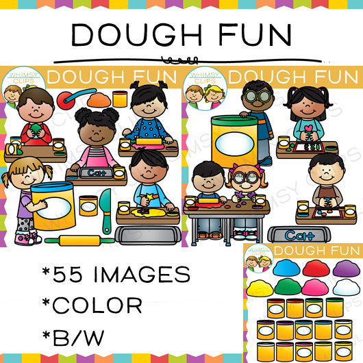 Dough Fun Clip Art