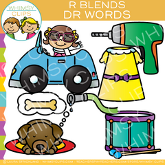 DR Words - Blends Clip Art