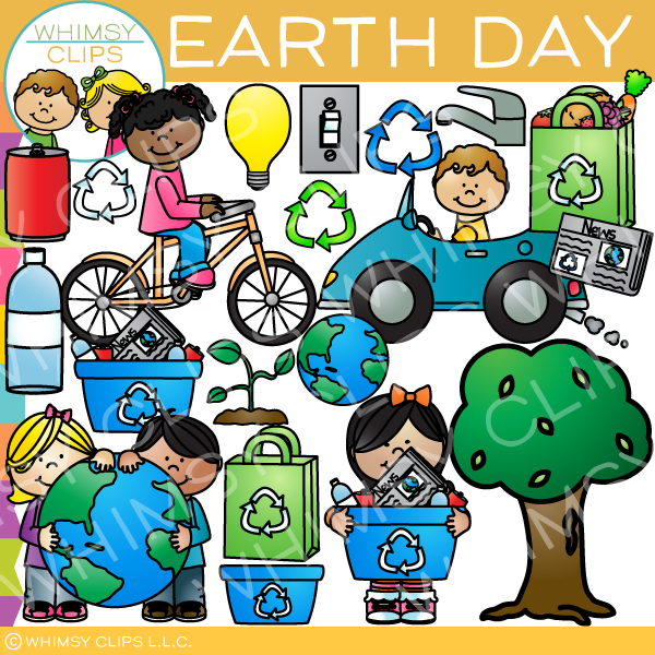 Happy Earth Day Clip Art