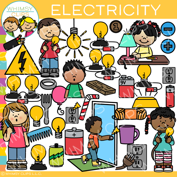 Electricity Clip Art - Form of Energy