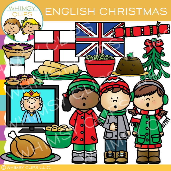 Christmas in England Clip Art