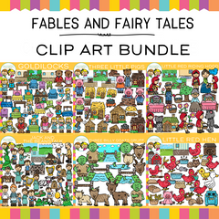 Fables and Fairy Tales Clip Art