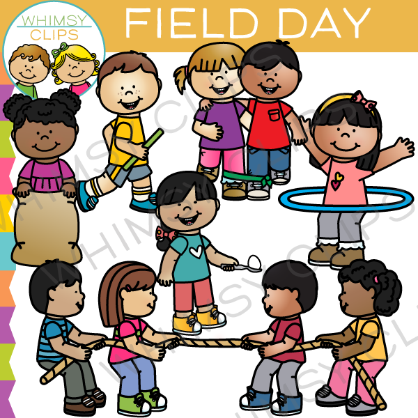 School Field Day Clip Art