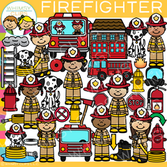 Firefighter Clip Art