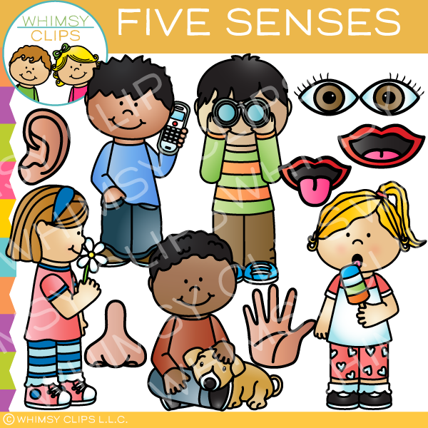 five senses clip art images illustrations whimsy clips rh whimsyclips com our five senses clipart five senses clip art preschool