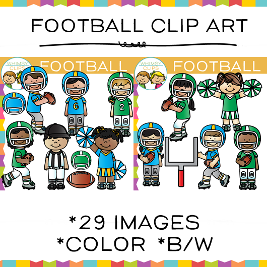 Kids Football Clip art