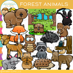 Forest Animal Clip Art