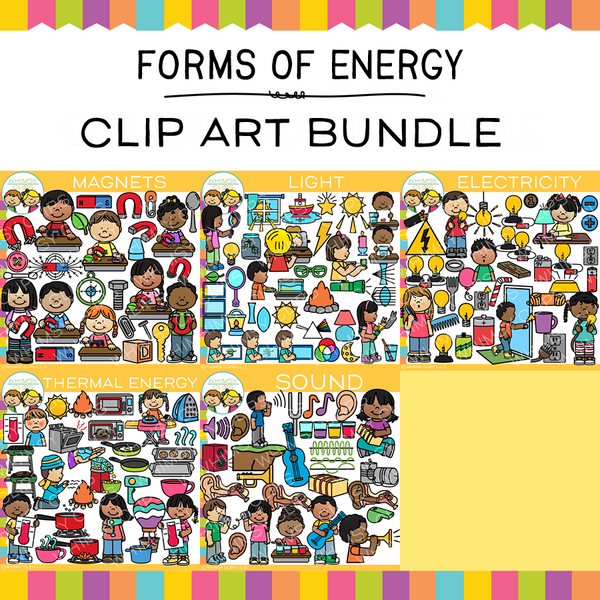 Forms of Energy Clip Art Bundle