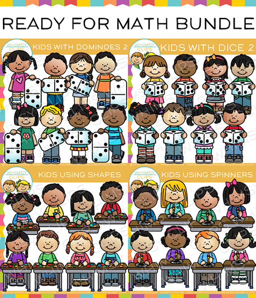 Ready for math clip art bundle images illustrations whimsy clips voltagebd Gallery