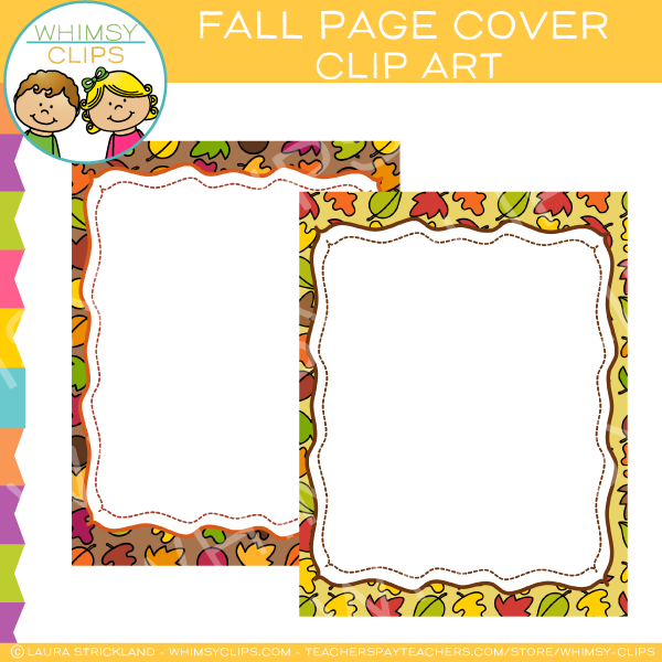 Fall Page Cover Freebie