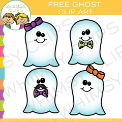 Free Ghost Clip Art