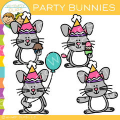 Free Party Bunny Clip Art