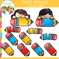 Free Pencil Clip Art