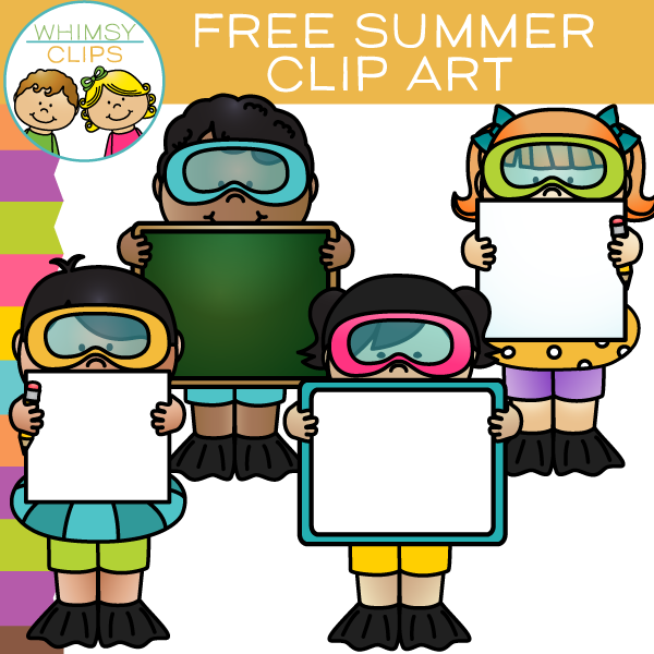 Free Summer Signs Clip Art