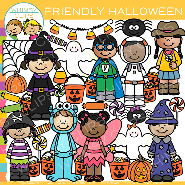 Friendly Halloween Clip Art