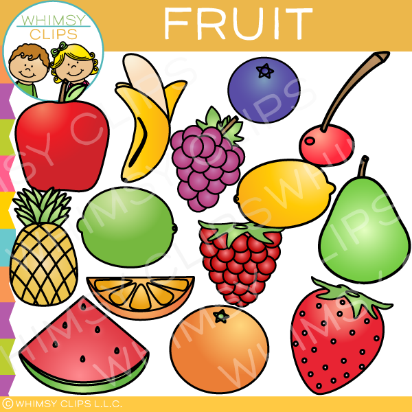 fruit clip art images illustrations whimsy clips rh whimsyclips com clipart of fruit of the spirit clipart of fruits and vegetables