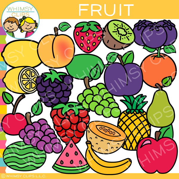 Food Group Fruit Clip Art