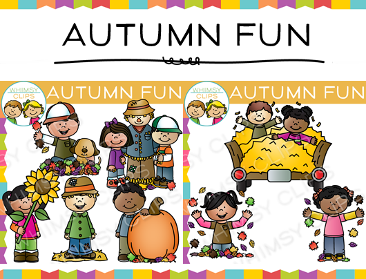 Autumn Fun Clip Art