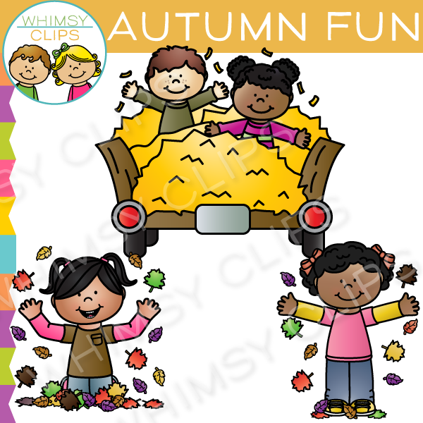 Autumn Fun Clip Art , Images & Illustrations | Whimsy Clips