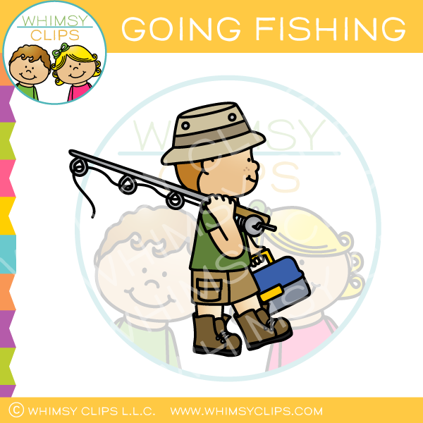 Going Fishing Clip Art