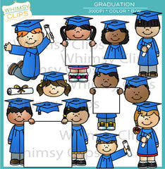 Graduation Clip Art Bundle
