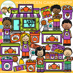 Halloween Candy Store Clip Art